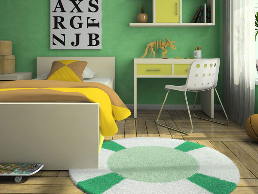 Bodenqualität im Kinderzimmer