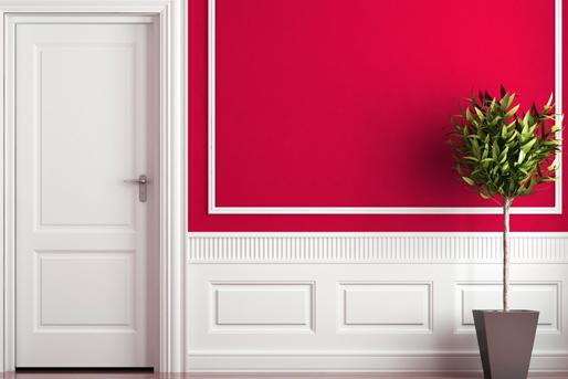 Flur Diele Pink Rosa