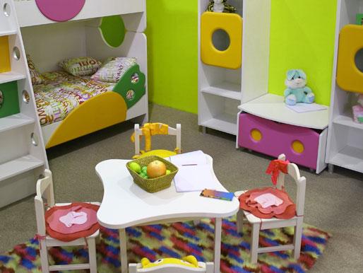 Raumakzente mit Kindertischen