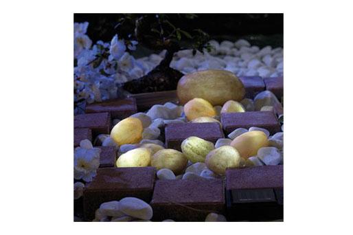 LED Leuchtsteine Garten