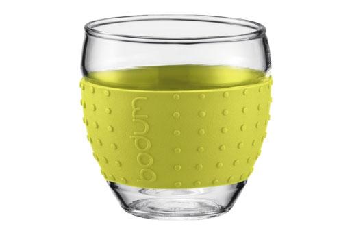 Teeglas Noppen grün