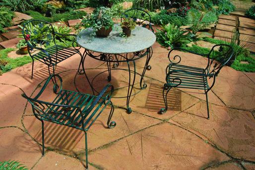 ideen und tipps f r den garten terrasse strandkorb. Black Bedroom Furniture Sets. Home Design Ideas