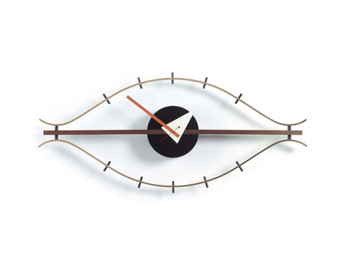 Wanduhr Eye Clock