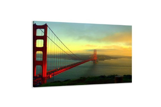 Kunstdruck Foto der Golden Gate Bridge