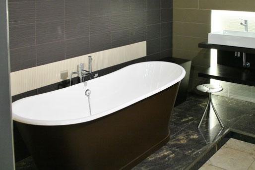 naturstein im badezimmer marmor schiefer sandstein. Black Bedroom Furniture Sets. Home Design Ideas
