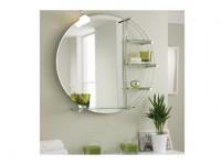 Badezimmer Spiegel rund
