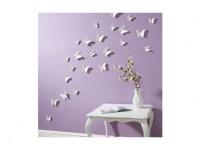 Schmetterling Set Wand