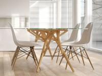 Designer Stuhl weiß