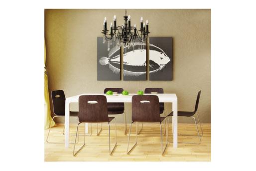 esszimmer tische tipps f r die tisch einrichtung im. Black Bedroom Furniture Sets. Home Design Ideas