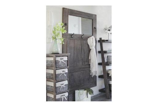 Holz Garderobe