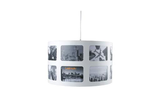 Lampe mit eigenen Fotos