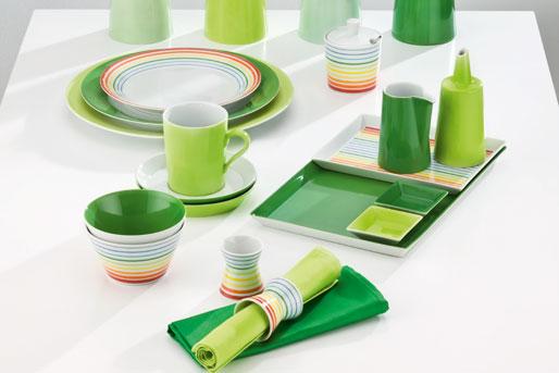 Kaffee Porzellan grün