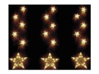 Lichtkette Sterne Weihnachten