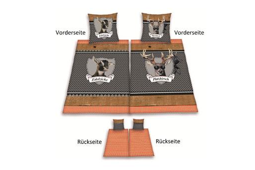 Bettzeug Guter Schlaf In Bettwäsche Aus Biber Baumwolle Satin