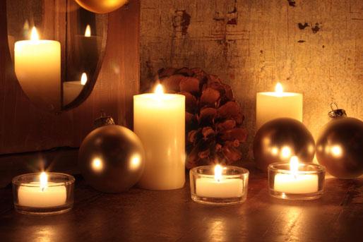 Teelicht, Kerze, Deko