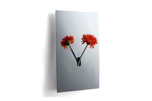 Wandaufhängung Vase