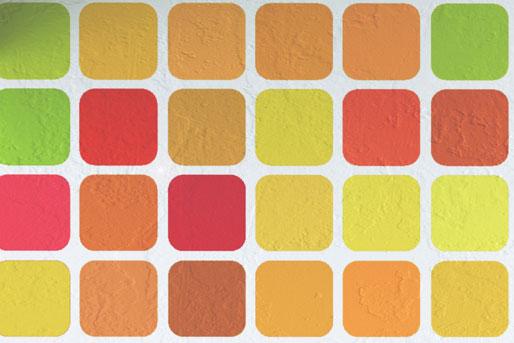 Wandgestaltung quadrate beispiele inspiration ber haus for Raumgestaltung tapeten beispiele