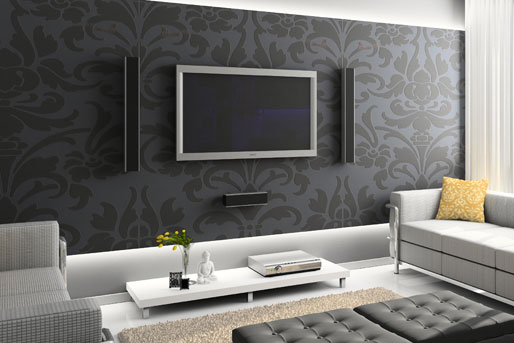 wohn tipps die richtige position f r den fernseher. Black Bedroom Furniture Sets. Home Design Ideas