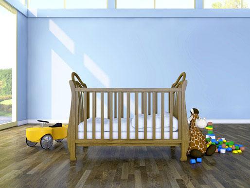 Raum für das Babyzimmer