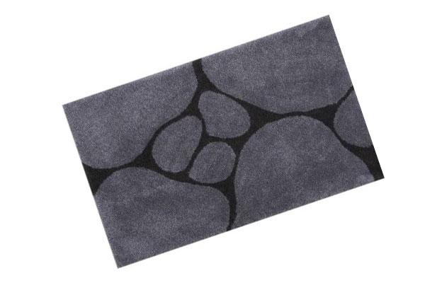 Teppich, Bad, Design, Duschvorleger, Stone, Steine,
