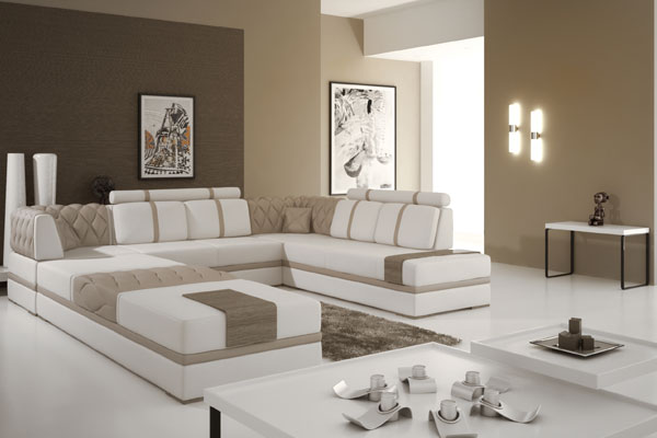 Ideen fürs Wohnzimmer: Sessel, Couch, Fernseher und mehr