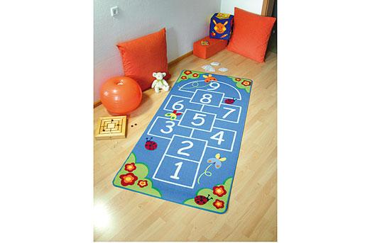 Hüpfspiel Kinder Teppich