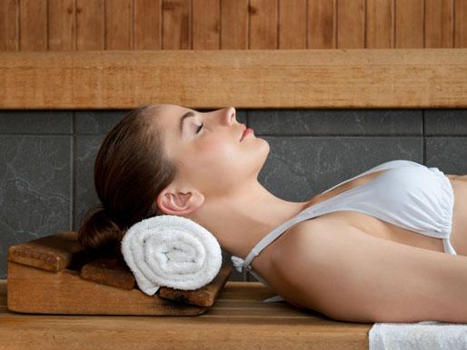 Sauna Entspannung