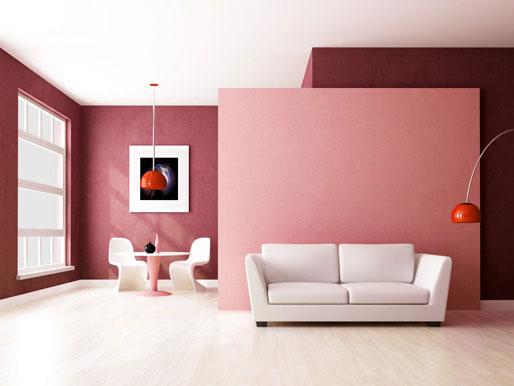 Raumteiler Farbkontraste