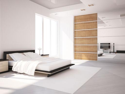 Fernseher im Schlafzimmer ja oder nein TV Schlafbereich Tipps