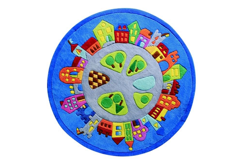Spielteppich Stadt