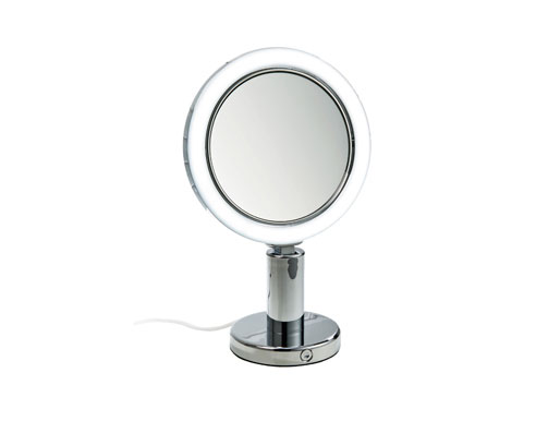 Stand Kosmetikspiegel beleuchtet