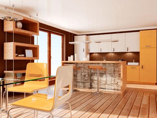 Offenen Küchenbereich planen