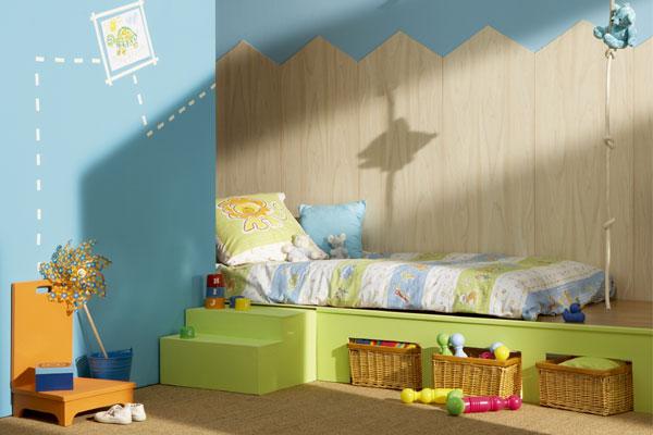 Originell und kindgerecht gestaltetes Kinderzimmer