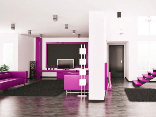 Wand als Raumteiler