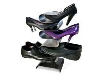 Vertikale Schuhaufbewahrung