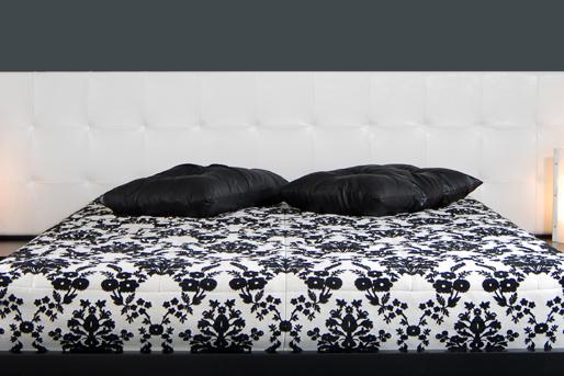 Schwarz und Weiß, Bettwäsche
