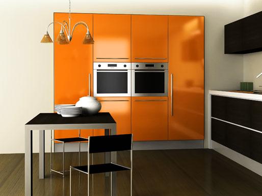 Stylischer Küchentisch