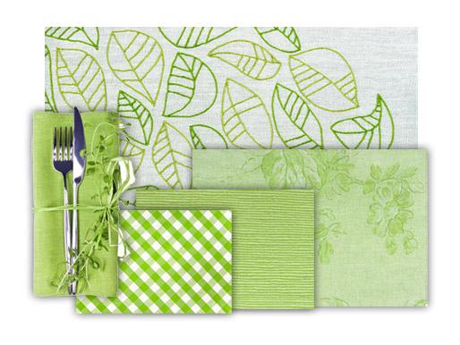 Tischtuch Grün Muster