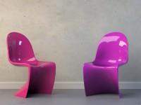 pink Stuhl