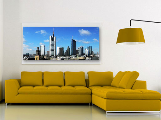 Wand Bild Skyline