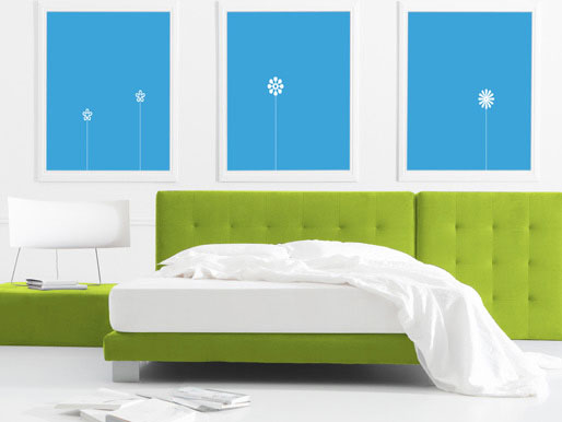 Wandfarbe Schlafbereich