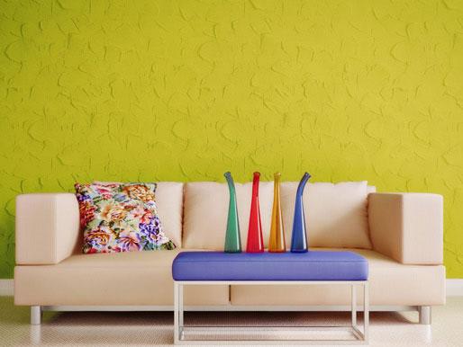 Wandfarben Wohnbereich