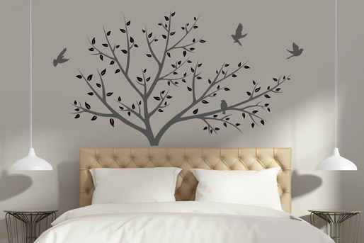 wandtattoo b ume kreativen baum f r die wohnung entdecken. Black Bedroom Furniture Sets. Home Design Ideas