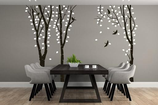wandtattoo b ume kreativen baum f r die wohnung entdecken. Black Bedroom Furniture Sets. Home Design Ideas