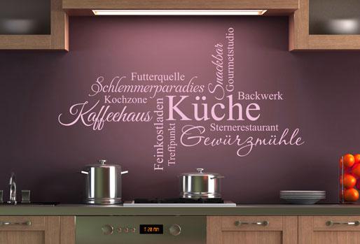 Für Genießer und Köche gibt es die Wortwolke rund ums Thema Küche